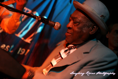 Bluesman Henry Gray