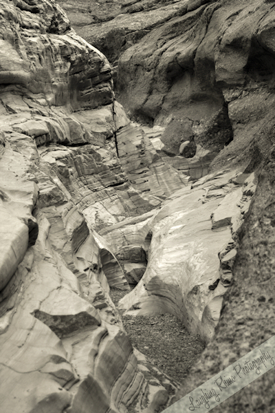 Mosaic Canyon B&W