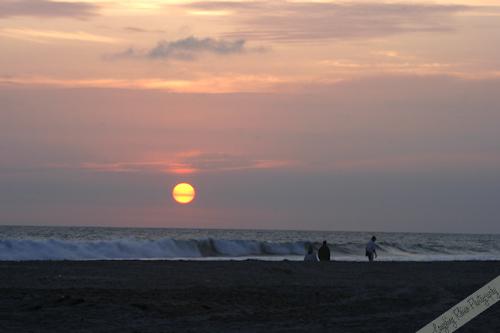 Sunset at Camp Pendleton