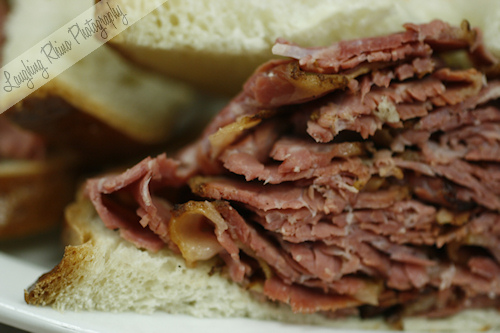 Pastrami sandwich from DZ Akins