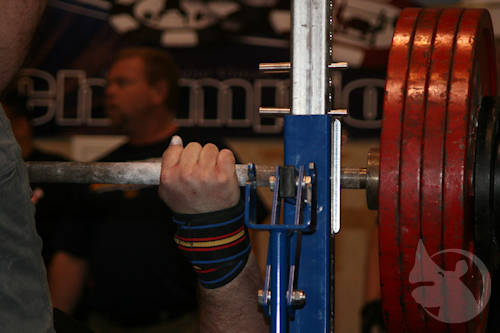 Brendan lifting 523 plus pounds