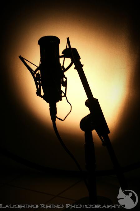 Microphone shadow