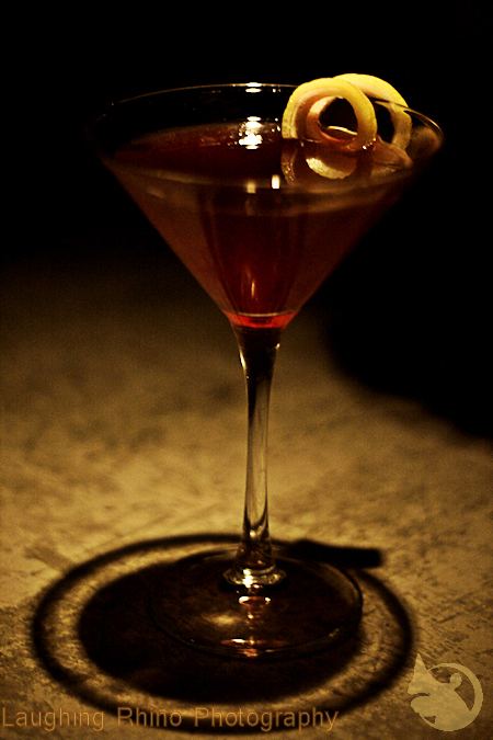 Berry good martini