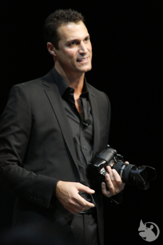 Nigel Barker at WPPI 2011 by Laughing Rhino Photography