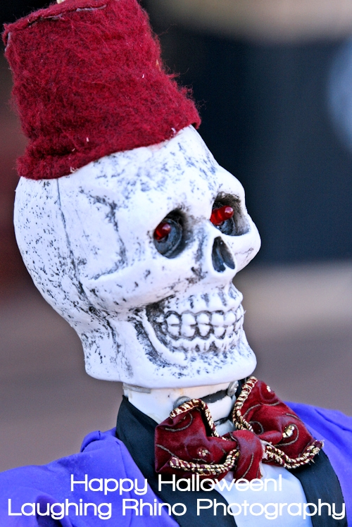 Happy Halloween Cool Skeleton