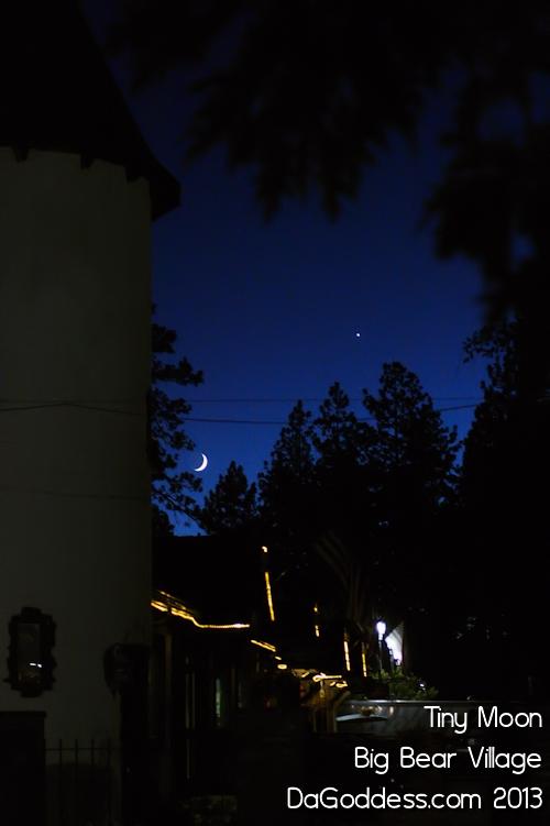 Big Bear Village at Night