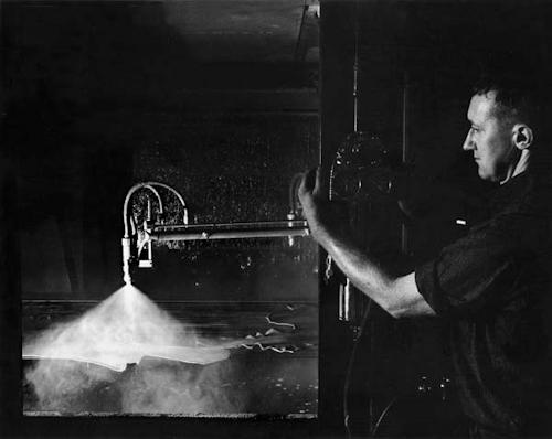 Salz Tannery worker