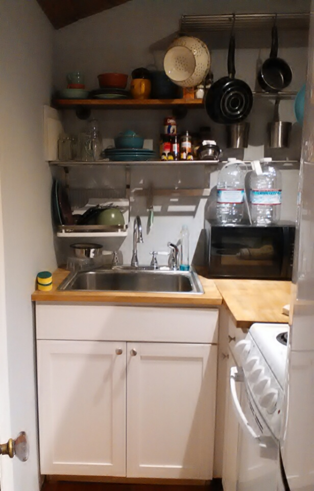 my very tiny kitchen